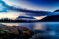 9-22-15 Sunrise Vermillion Lakes 810-4074 Edit-