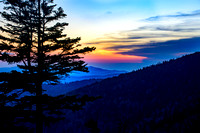 4-26-16 Sunset Clingmans Dome 810-1852